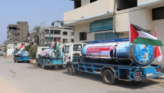 DMI Akan Membangun Pabrik Air Minum Bagi Warga Gaza