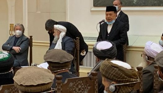 JK Ajak Afghanistan Kirim Anak Mudanya Belajar di Indonesia