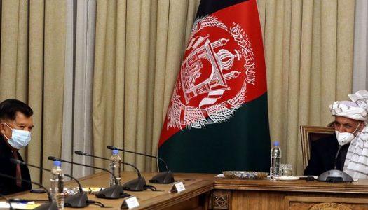 Bertemu JK, Presiden Afghanistan Sebut Ingin Adopsi Tata Kelola Masjid di Indonesia